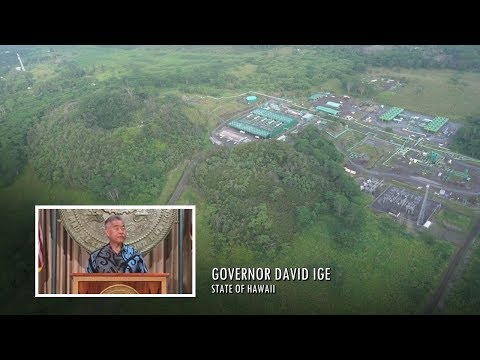 Hawaii Eruption: State Steps In On Puna Geothermal (May 9, 2018)