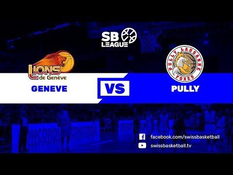 SB League - Day 11: Genève vs. Pully-Lausanne