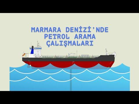 Marmara Denizi'nde Petrol Arama Çalışmaları