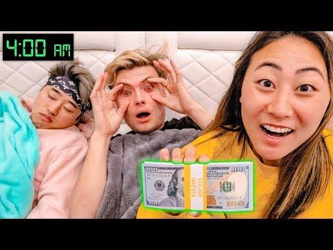 LAST TO FALL ASLEEP WINS $10,000 DOLLARS!!