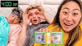 LAST TO FALL ASLEEP WINS $10,000 DOLLARS!!
