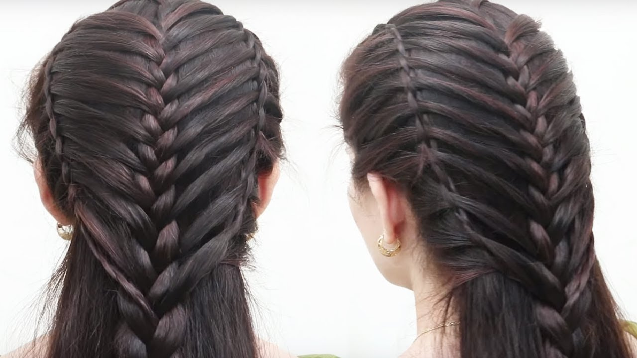 Amazing Easy Hair Style For Long Hair Girls Hair Style Videos - Hairstyle easy videos