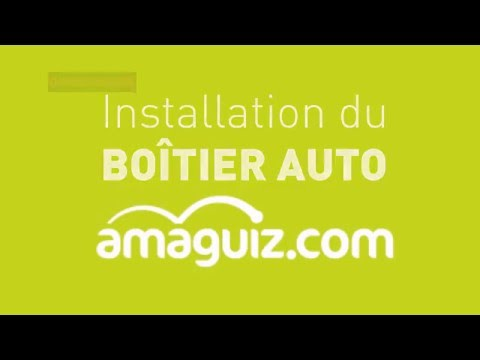 installation du bo tier auto sur la prise obd de votre voiture amaguiz youtube. Black Bedroom Furniture Sets. Home Design Ideas