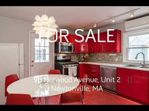 Tour of 96 Norwood Avenue, Unit 2, Newtonville, MA - Presented by Dwell360 Real Estate