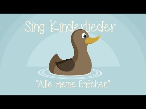 Alle meine Entchen - Kinderlieder zum Mitsingen   Sing Kinderlieder