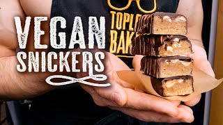 Vegan Snickers - Topless Baker