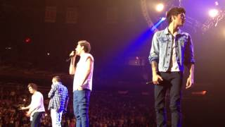 C'mon C'mon + Niall's Speech - One Direction @ Madison Square Garden - 12/3/12