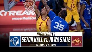 No. 16 Seton Hall vs. Iowa State Basketball Highlights (2019-20)   Stadium