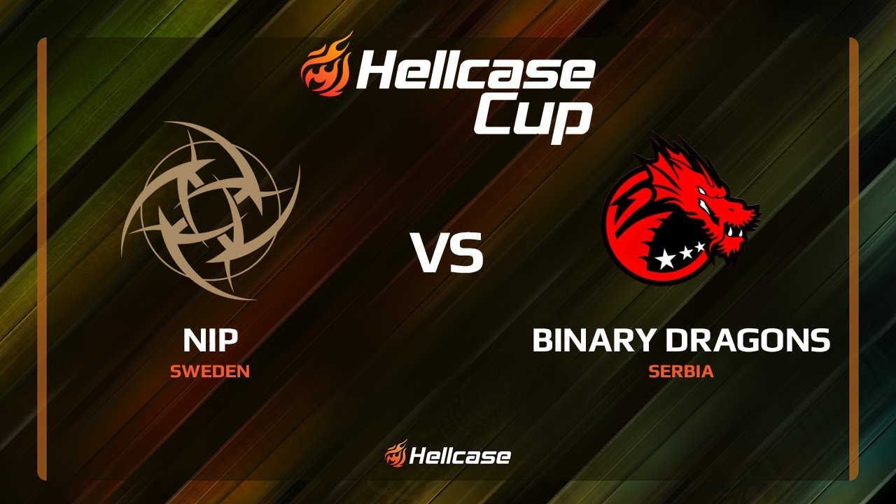 [EN] NiP vs Binary Dragons, map 1 cache, Hellcase Cup 6