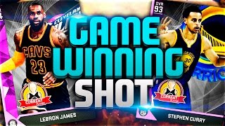 AMETHYST CURRY + LEBRON! CRAZY GAME WINNING SHOT - NBA 2K16 MY TEAM