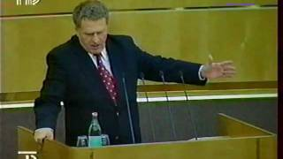 Жириновский уникальное видео 1998 года