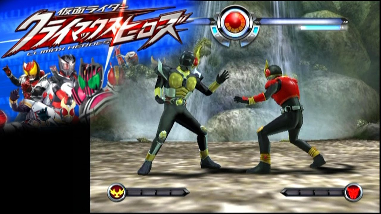 Kamen Rider Climax Heroes Ps2 Youtube