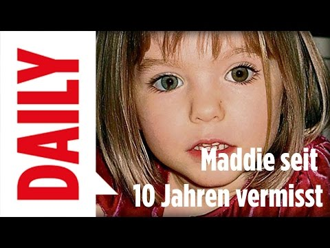 Maddie McCann seit 10 Jahren vermisst - BILD Daily Live 02.05.17