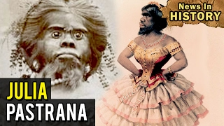 The Ugliest Woman in the World - Julia Pastrana - News In History
