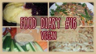 Vegan Food Diary #16 - Rezeptinspiration -  Kartoffelgratin, Hefeklöße, Lasagne, Pasta