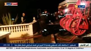 """حصريا : مشاهد لحظة نشوب الحريق بالمركب السياحي """"ازور """"بزرالدة"""