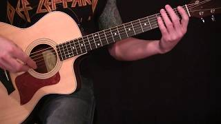 Alice in Chains - Brother - Acoustic Guitar Lesson