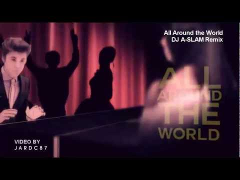Justin Bieber  All Around The World DJ ASLAM HOUSE REMIX f Ludacris & Daft Punk