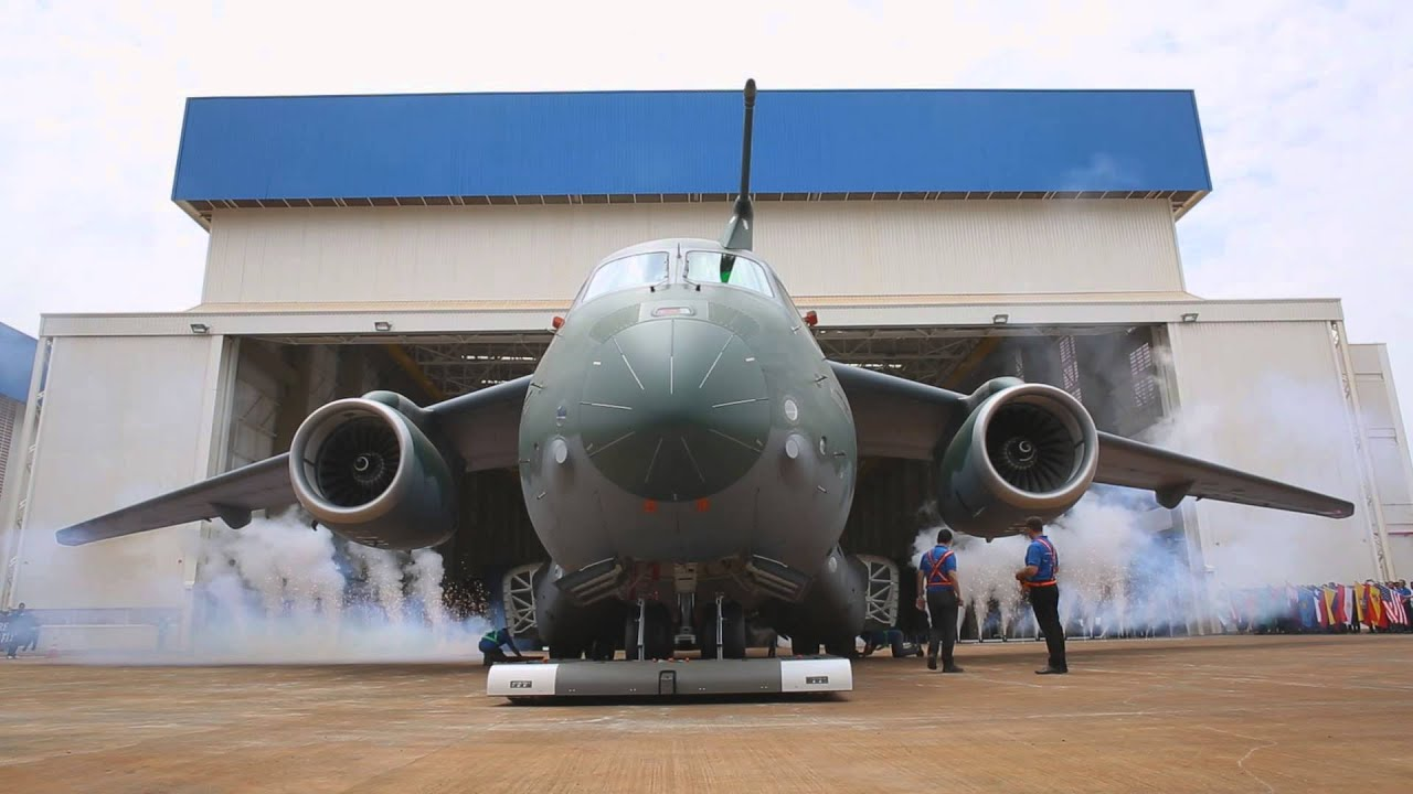 Hd Wallpaper 2014 Rollout Embraer Kc 390 Youtube