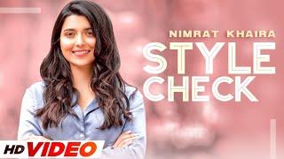 Nimrat Khaira(StyleCheck)|Sira E Hou | Amrit Maan |Latest Punjabi Songs 2021 | Speed Records