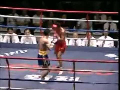 Sanda vs Muay Thai: Cui Yue Wu vs Koonlan