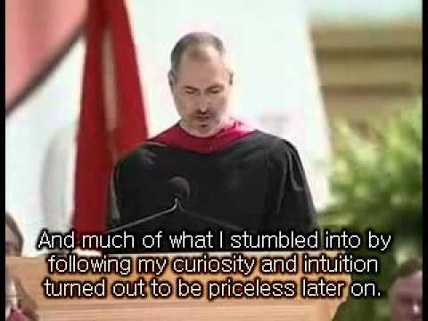 Steve jobs Stanford commencement speech 2005 part1 + Eng sub