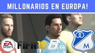 FIFA18 MILLONARIOS En La Euro League Vs Mainz! 2018 Capitulo#41 Liga Europea [Austin]