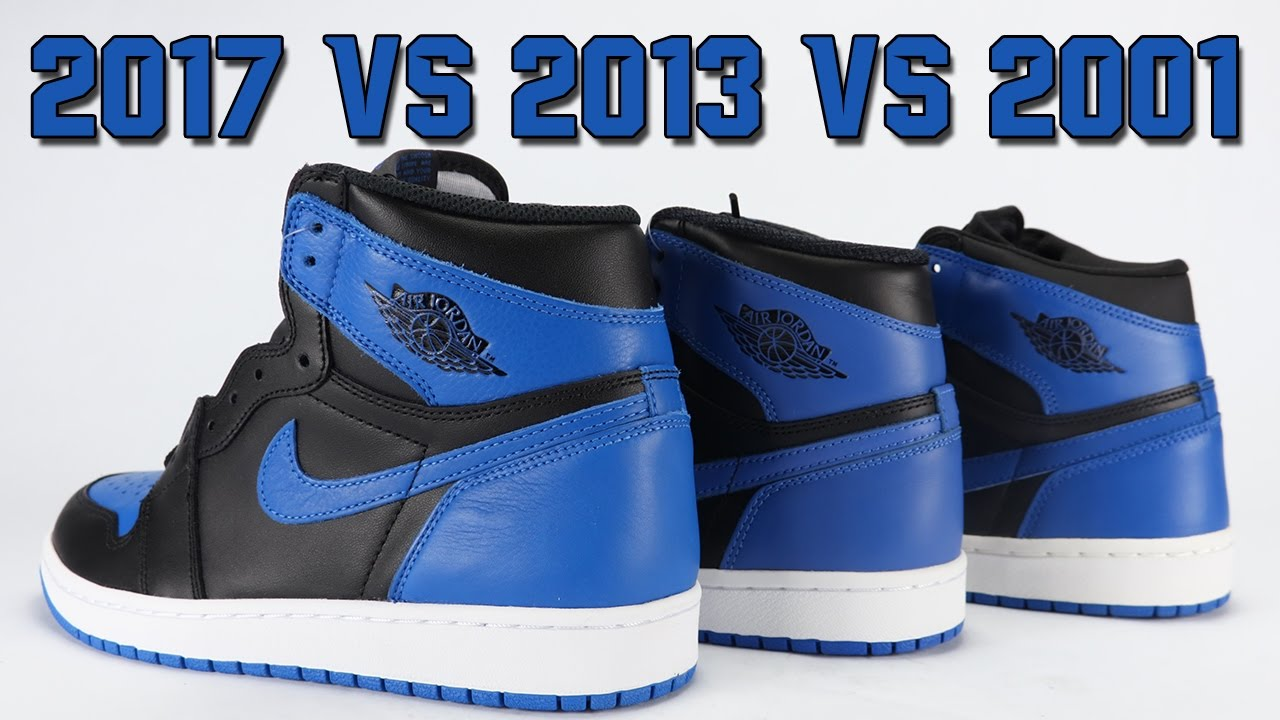 2001 Air Jordan 1 Royal