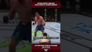 PERFECT Head Kick KO by Cerrone #SHORTS
