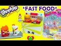 YouTube Turbo Shopkins Fast Food Collection Playset Season 3 Food Fair