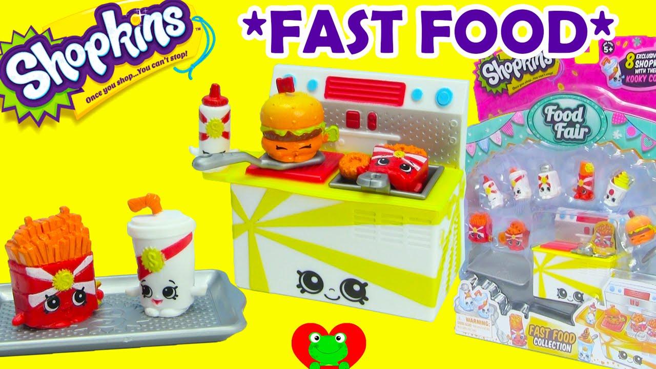 Fast Food Playset Shopkins