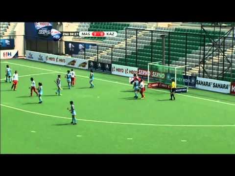 Hero HWLR2 Delhi: 21/02/13 Malaysia v Kazakhstan