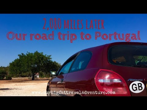 Our road trip to Portugal 🚗 🛤 | 🇬🇧  UK to Portugal 🇵🇹 | Our Big Fat Travel Adventure |