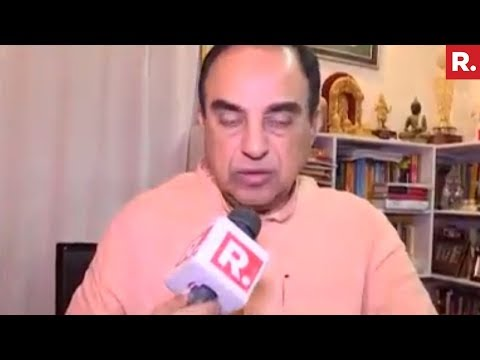 "Subramanian Swamy's Take On Rahul Gandhi's ""Dynasty Comment"""