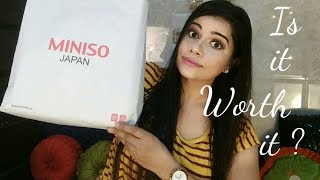 MINISO HAUL | Cute Stationery / Beauty / Lifestyle Products | Sana K