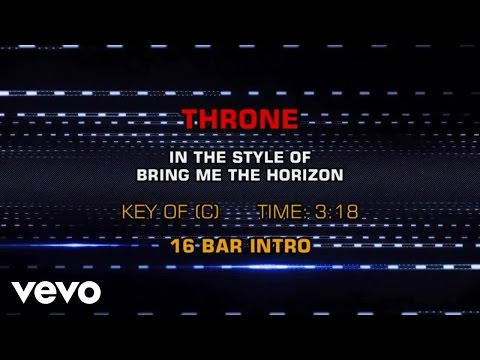 Bring Me The Horizon - Throne (Karaoke Smash Hits Vol. 1)