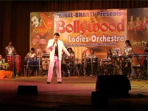K for KIshore Fame Nayan Rathod With Bollywood Ladies Orchestra