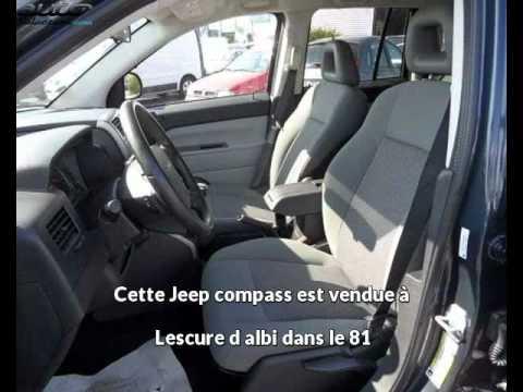 Jeep compass occasion visible à Lescure d albi présentée par Sn diffusion