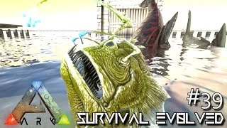 ARK: Survival Evolved - NEW DINO WATER PEN & NEW CATAPULT !!! [Ep 39] (Server Gameplay)
