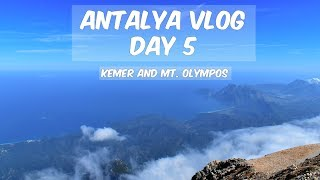 Antalya Vlog Day 5: To the peak of Mount Olympos!!!