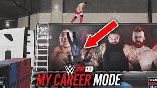 WWE 2K18 My Career Mode - Ep 27 - LONG WAY DOWN!!
