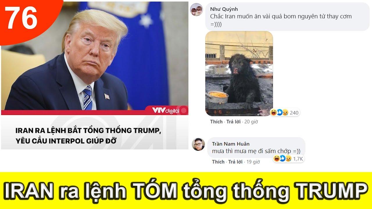 Top Comment Bá Đạo 2020 - Bình luận hài nhất Facebook Tik Tok, Phần 76