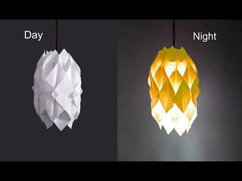 How to Make Paper Lamp at Home | DYI Paper Lantern