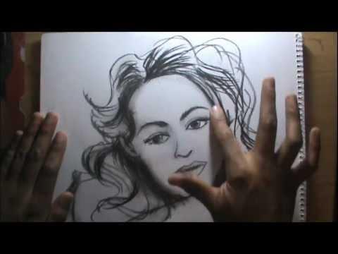 Curso de dibujo a lpiz cap 20 Dibujo de rostro  YouTube