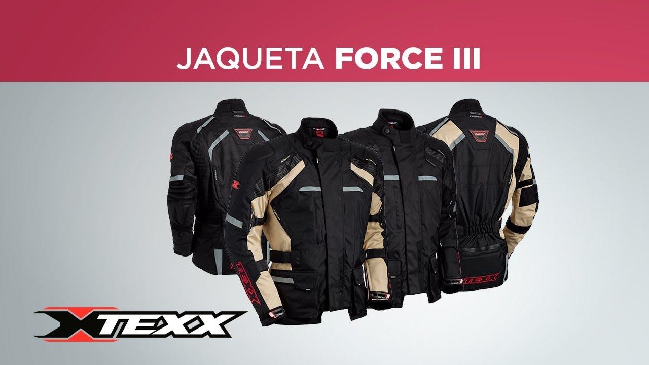 b129040d01 Jaqueta Force III - TEXX - YouTube
