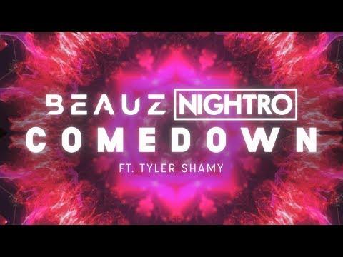 BEAUZ, Nightro ‒ Comedown ft. Tyler Shamy (Lyrics / Lyric Video)