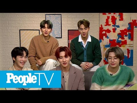 Monsta X Answers Fan Questions On Music, Each Other, & What Keeps Them Motivated | PeopleTV