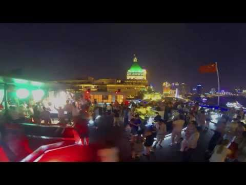 Bar Rouge Rooftop, Shanghai, China  Sunday 30th 2013 - GoPro Time Lapse