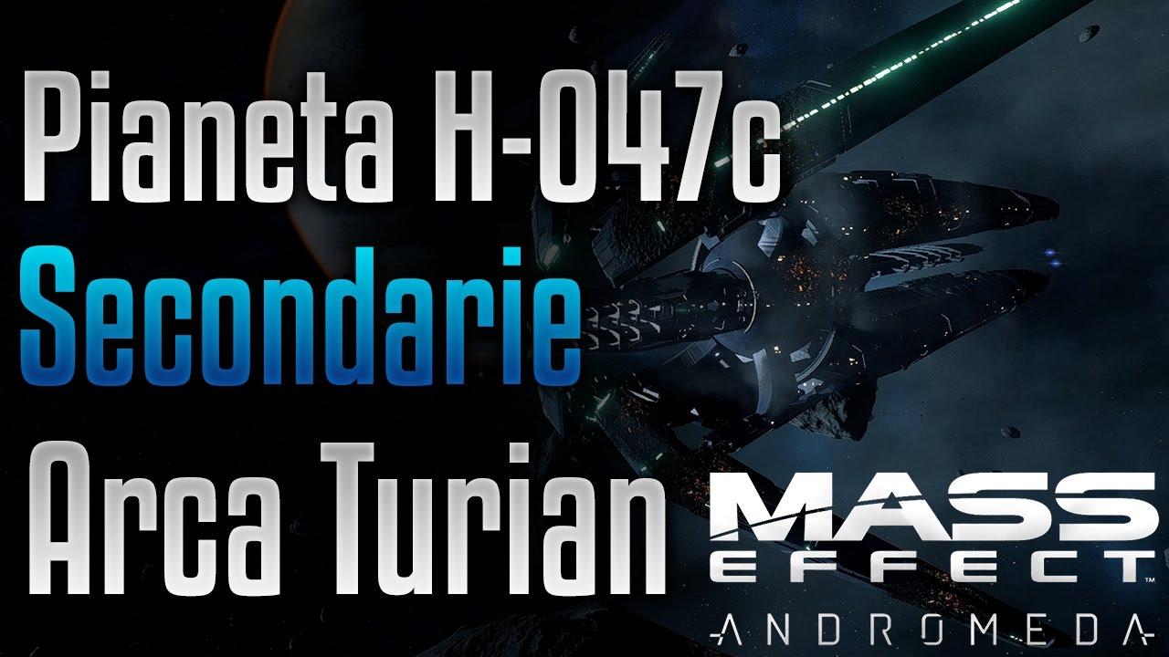 Mass Effect Andromeda Secondarie Ita Arca E Pioniere Turian