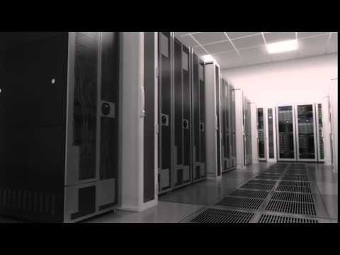 Web Server Room - Electronics Industry Background